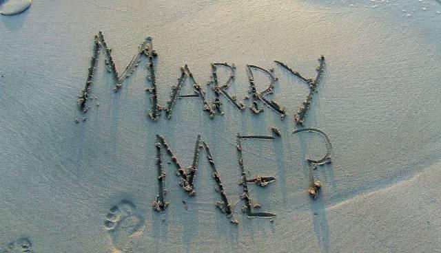 Einen Heiratsantrag machen